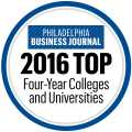 2016 Top Four Year Colleges and Universities